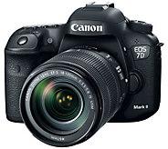 Canon EOS 7D Mark II DSLR Camera with 18-135mmIS Lens - E292173