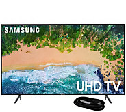 Samsung 55 Class LED 4K HDR Ultra HDTV and 6HDMI Cable - E294473