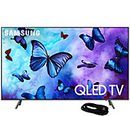 Samsung 49 Class QLED Smart Q4K Ultra HDTV and6 HDMI Cable - E295173