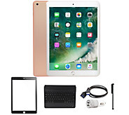 All-New 2018 Apple iPad 9.7 32GB Wi-Fi Tablet with Accessories - E232074