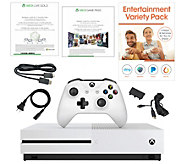 Xbox One S 1TB Bundle 3-Month Xbox Live & Game Pass, App Pack - E232275