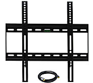 MegaMounts 32 to 50 TV Wall Mount with HDMI Cable - E281875