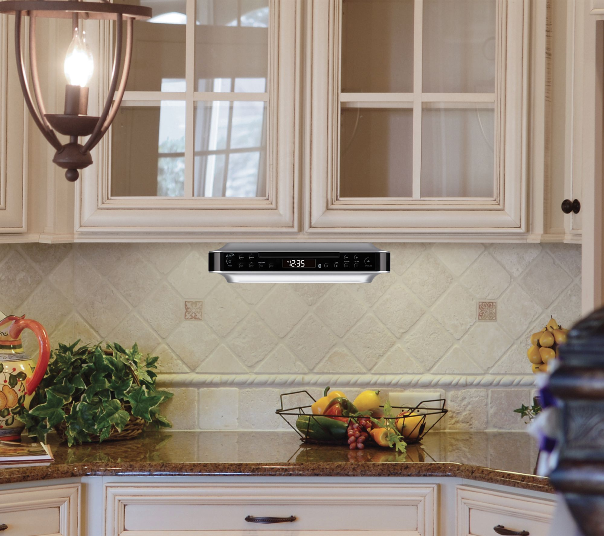 Under-Cabinet Wireless Music System w/ FM Radio& CD Player - Page 1 ...