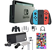 Nintendo Switch Console with Mario Kart 8 and Accessories - E293175