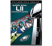 NFL Super Bowl LII 2018 Philadelphia Eagles DVD - E293675