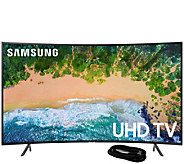Samsung 55 LED Curved 4K HDR Ultra HDTV and 6HDMI Cable - E294475