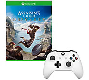 Assassins Creed Odyssey & Xbox One Controller- White - E295875
