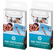 HP Sprocket Set of 2 Zink Paper Auto-Delivery - E231076