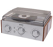 Jensen 3-Speed Stereo Turntable with AM/FM Stereo Radio - E257976