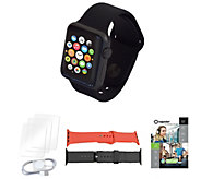 Apple Watch Series 1 38mm w/ Two Bands. Voucher, and Accessories - E232077
