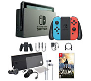 Nintendo Switch Console with Legend of Zelda: Breath of Wild - E293177