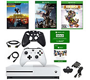 Xbox One S 1 TB PlayerUnknowns Battlegrounds Console & Games - E294377