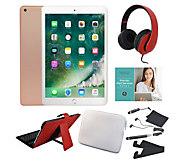 2018 Apple iPad 9.7 32GB Wi-Fi Tablet w/ Keyboard & Accessories - E232778