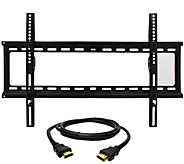 MegaMounts Fixed 32 to 70 TV Wall Mount with HDMI Cable - E287478