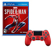 Spiderman & Magma DualShock 4 Controller - E295578