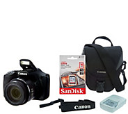 Canon PowerShot SX530 HS Wi-Fi 16MP 50x Zoom Digital Camera & Accessories - E232779