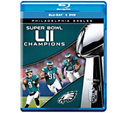 NFL Super Bowl LII Phila. Eagles Blu-ray & DVD Combo - E293679