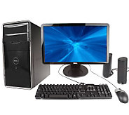 DellMiniTowerw/ 4GB RAM,500GBHD Card Reader,DVD Drive, Speakers &22DiagMonitor - E07780