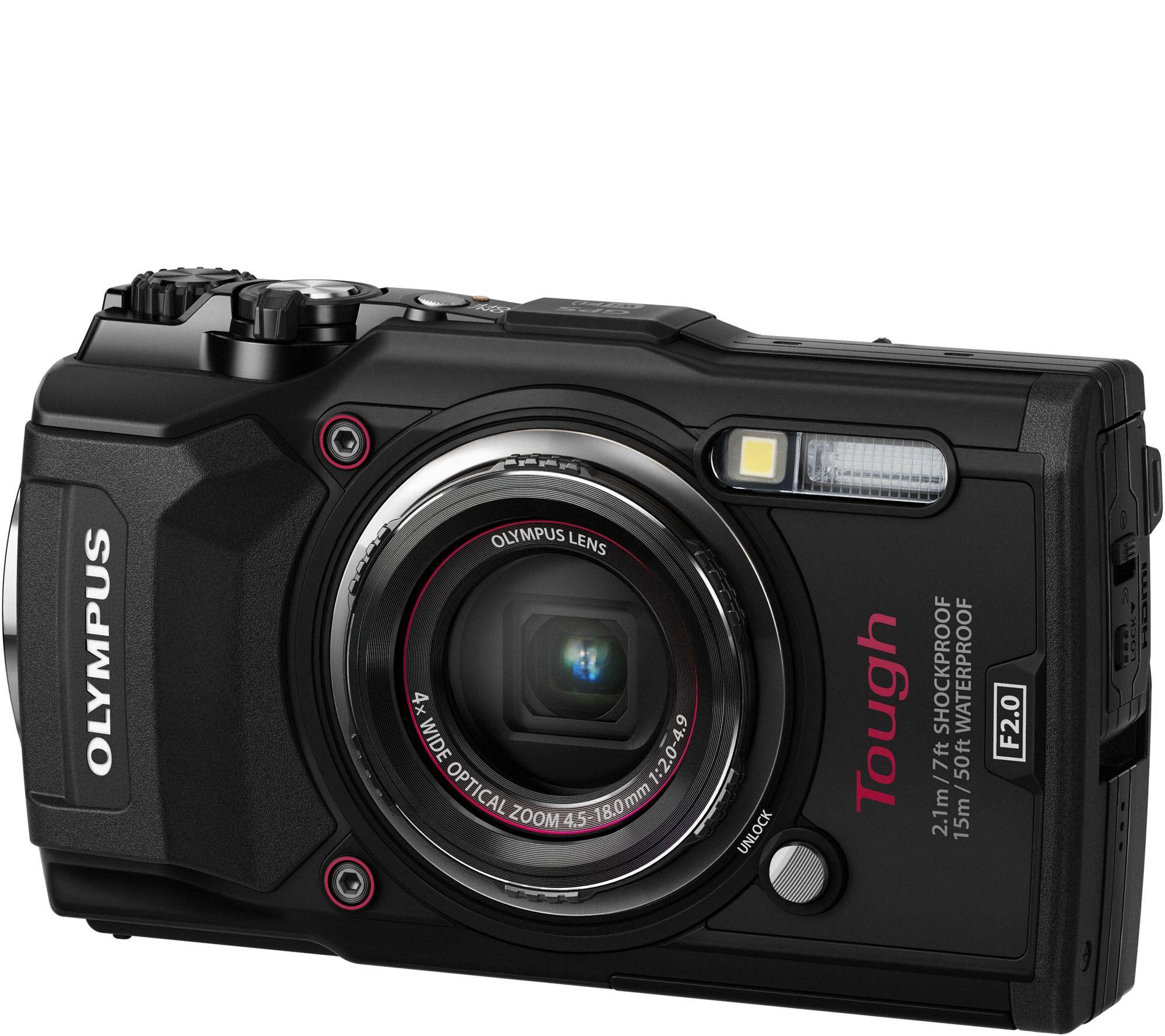 99f36794c104 Olympus Tough! TG-5 12MP Camera with WiFi — QVC.com