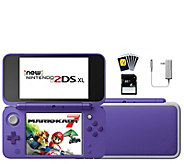 Nintendo 2DS XL with Mario Kart 7 in Purple - E296581