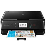 Canon PIXMA TS6120 Wireless Printer, Copier Scanner with 100-Pack Paper - E232582
