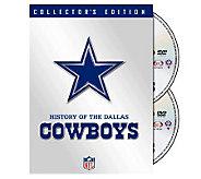 NFL History of the Dallas Cowboys 2-Disc Set - E265982