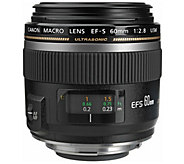 Canon EF-S 60mm f/2.8 Macro USM Lens - E245383
