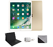 Apple iPad Pro 12.9 512GB Wi-Fi & BluetoothKeyboard - Gold - E293084