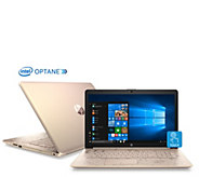 HP 17 Touch Laptop Core i5 8GB RAM 1TB HDD w/ 16GB Optane, 3-Year Support - E232286