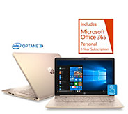 HP 17 Touch Laptop Core i5 8GB RAM 1TB HDD w/ 16GB Optane, Tech & Office - E232287