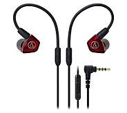 Audio-Technica Dual-Armature Driver Earbuds - E294087