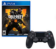 PS4 Call of Duty: Black Ops 4 & Controller - E295887