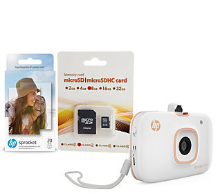 HP Sprocket 2-in-1 Portable Photo Printer &Camera