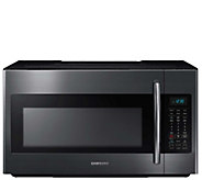 Samsung 1.8-Cu. Ft. Over-the-Range Microwave -Black Stainless - E288688