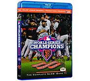 San Francisco Giants 2012 World Series Champions Blu-ray - E290988