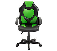 Techni Mobili Kids Gaming and Racing Chair with Wheels - E300189