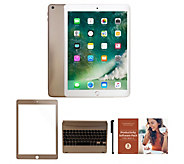 2018 Apple iPad 9.7 32GB Wi-Fi Tablet with Keyboard and Accessories - E232091