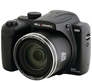 BELL HOWELL 20 Megapixel Digital Camera w/ 35XOptical Zoom - E296391