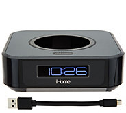 iHome Bedside Stereo and Clock for Amazon Echo Dot - E231592