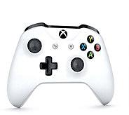 Microsoft Wireless Controller for Xbox One & Win 10 - White - E291292