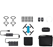 DJI Spark Mini Drone Fly More Combo With Remote& Accessories - E292493