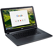 Acer Chromebook 15.6 Laptop - Intel Celeron, 4GB RAM, 32GB - E294393