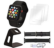 Apple Watch Series 3 GPS & Cellular 42mm &Accessories - E295693