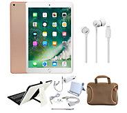 Apple iPad 9.7 128GB Wi-Fi w/ Beats urBeats3 &Accessories - E300093