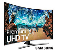Samsung 55 4K Curved UHD Smart TV w/ HDMI Cable & 2-Year Warranty - E230594