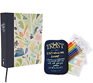 Beautiful Word Large Print Coloring Bible Art Set - E231094