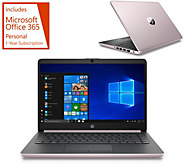 HP 14 Laptop Intel 4GB RAM 64GB eMMC with Office 365 and Voucher - E232794