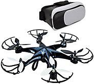 SkyRider Drone and Virtual Reality Bundle - E289594