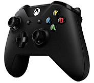 Microsoft Wireless Controller for Xbox One &Win 10 - Black - E291294