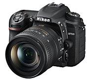 Nikon D7500 Digital SLR Camera Bundle with 16GBSD Card - E295394